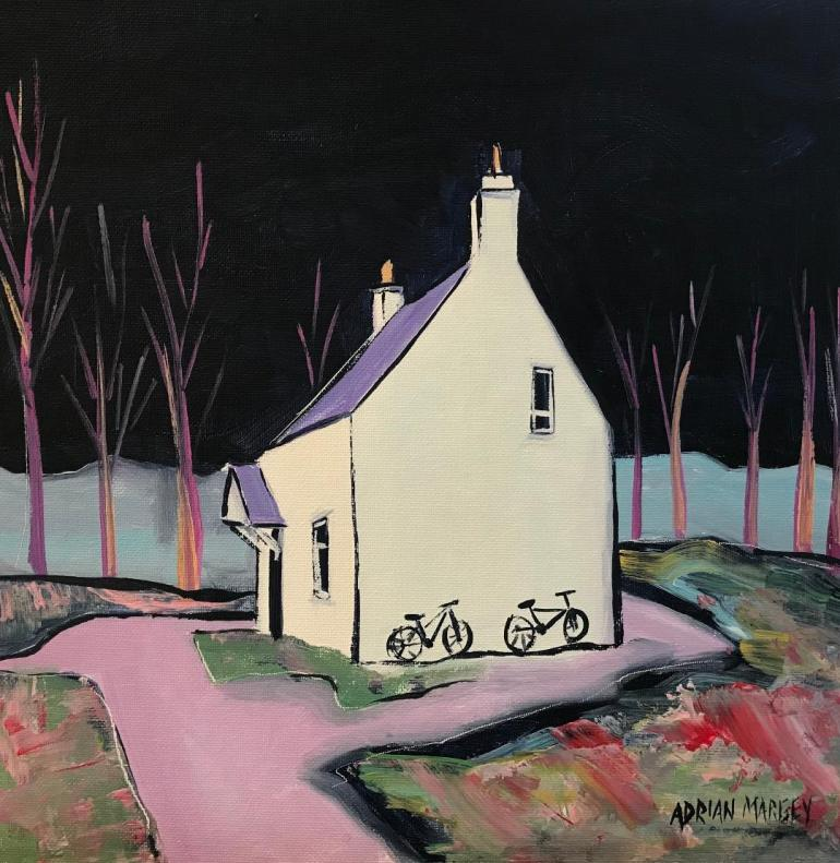 house with bikes