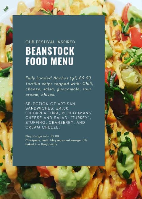 beanstock menu