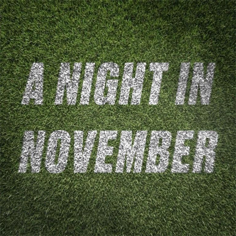 A Night In November poster